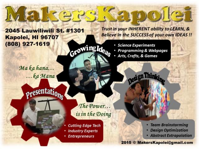 Makerspace – Kapolei, HI